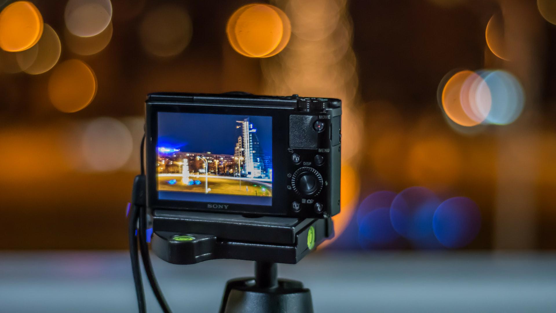 Display de cámara fotográfica