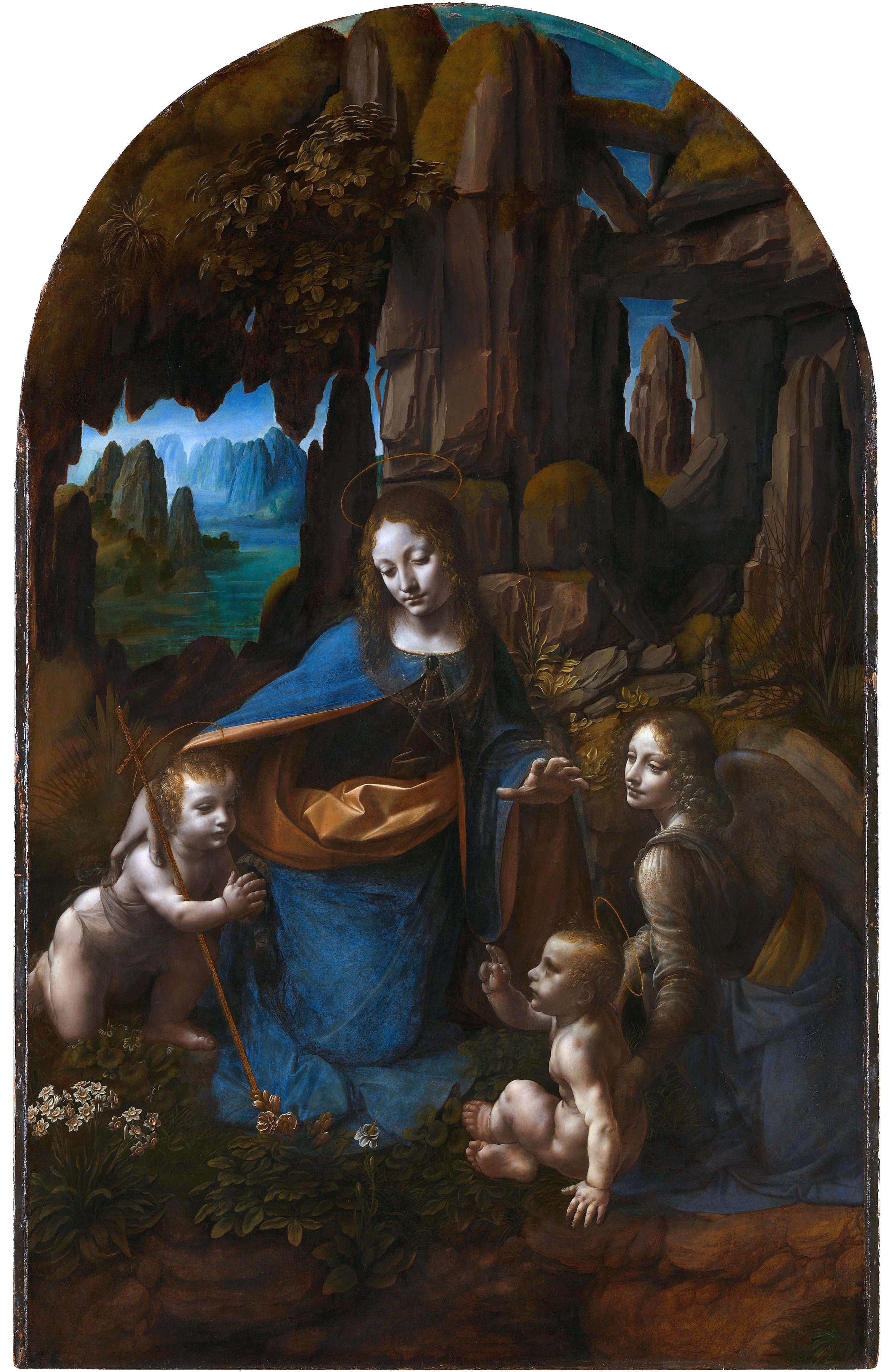 La Virgen de las rocas - Leonardo DaVinci