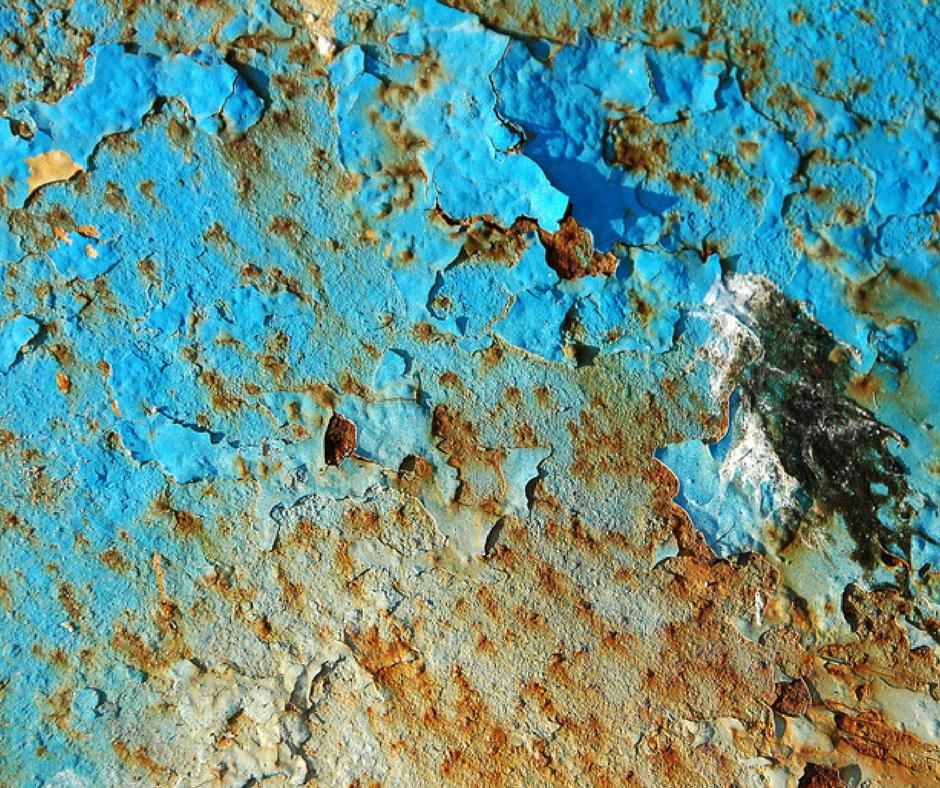 Textura de pintura desgastada