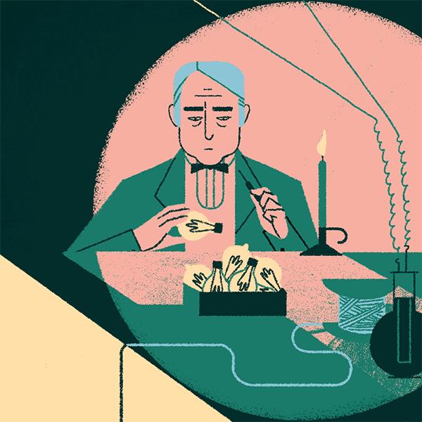 Thomas Alva Edison - Lecturas para mejorar la comprensión