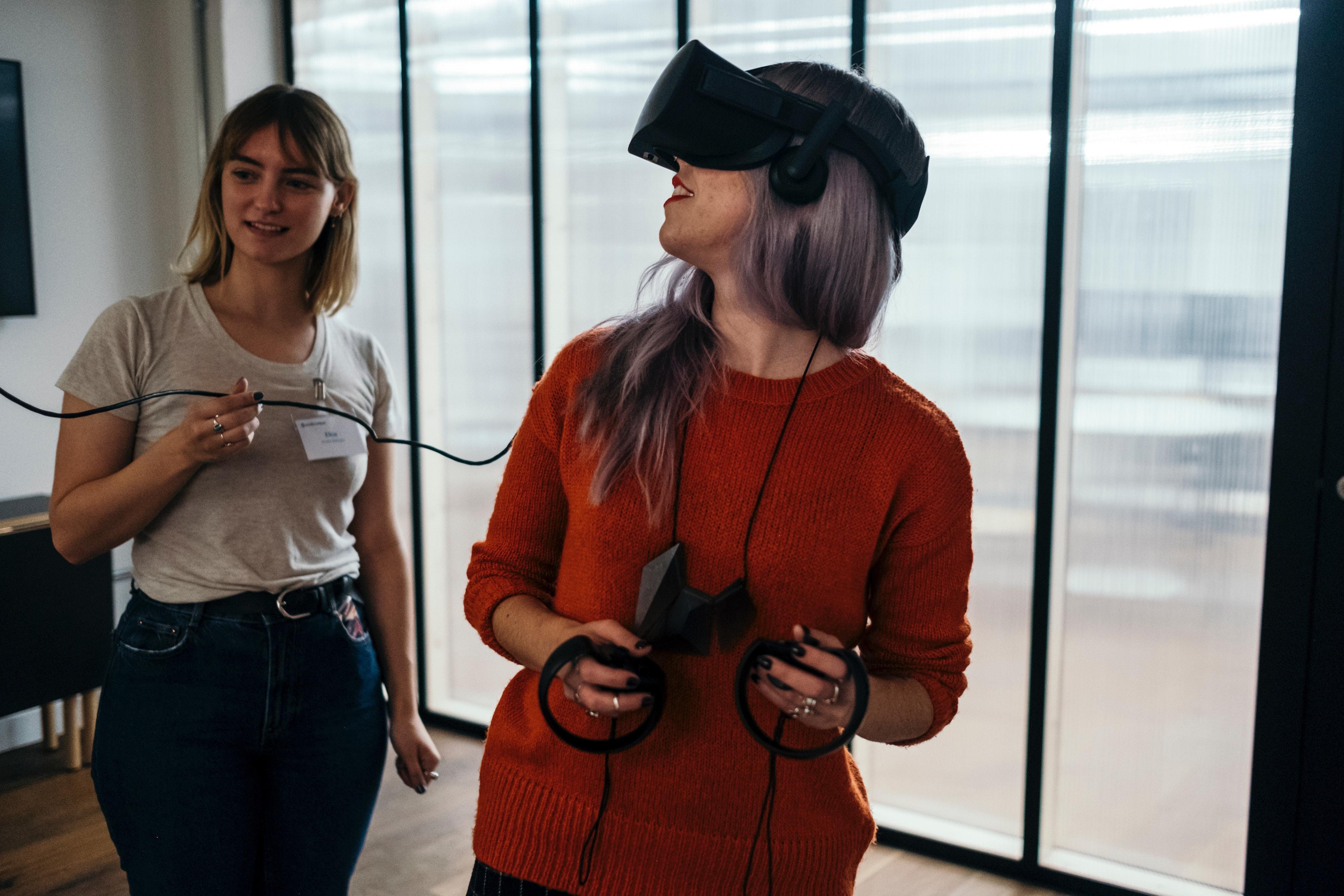 Uso de aplicaciones de realidad virtual supervisado por el docente
