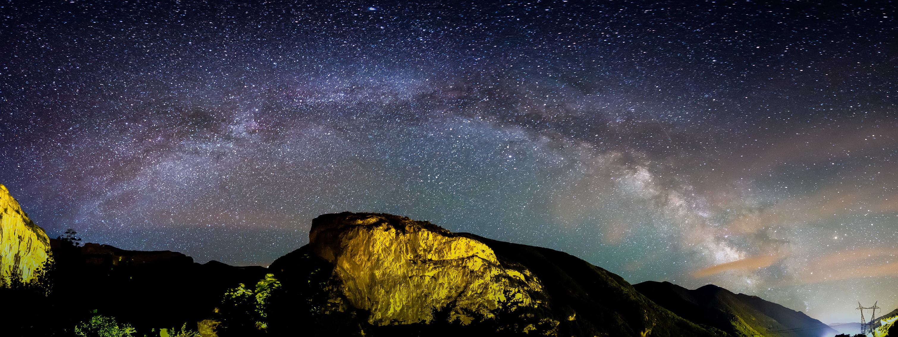 Photos of stars or the Milky Way