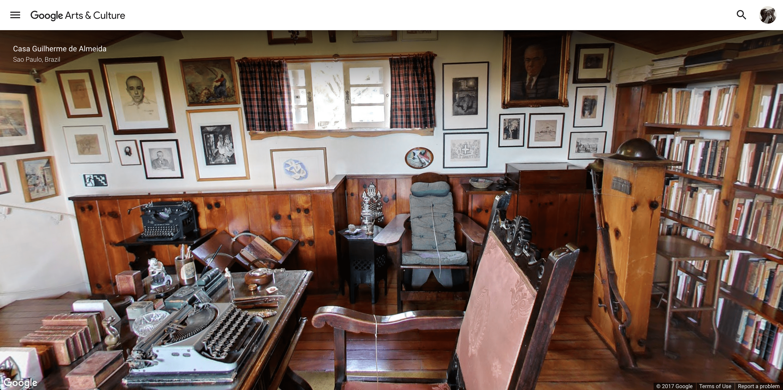 Casa Guilherme de Almeida – Brasil