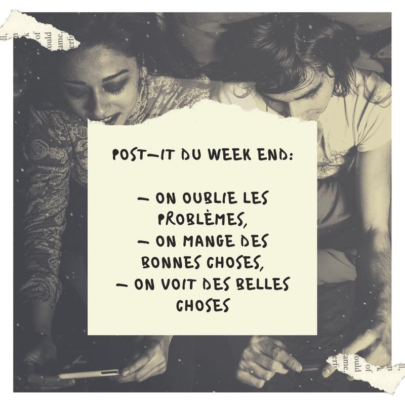 Les Plus Beaux Textes Images De Bon Weekend Du Web Canva