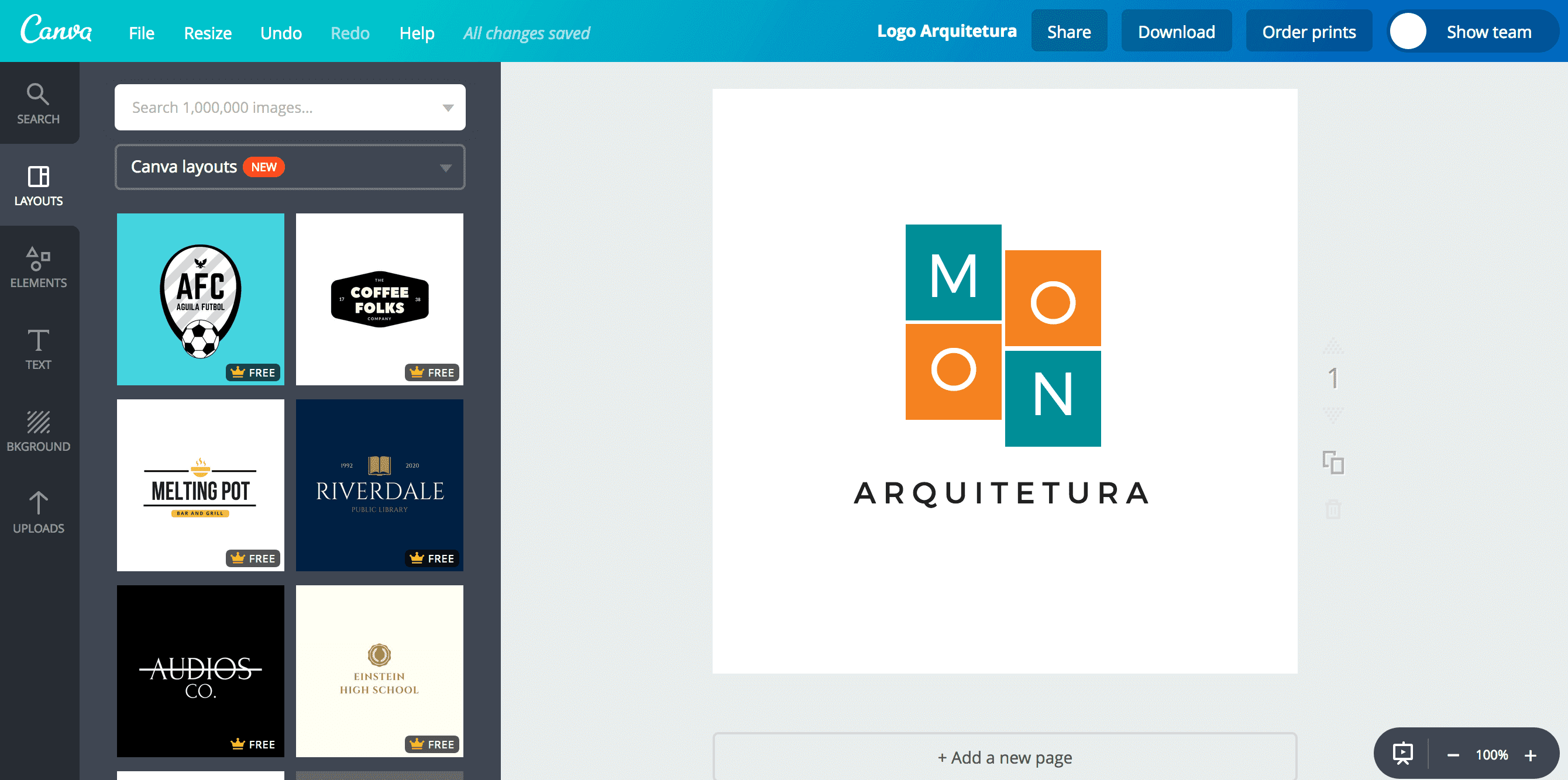Logo de arquitetura