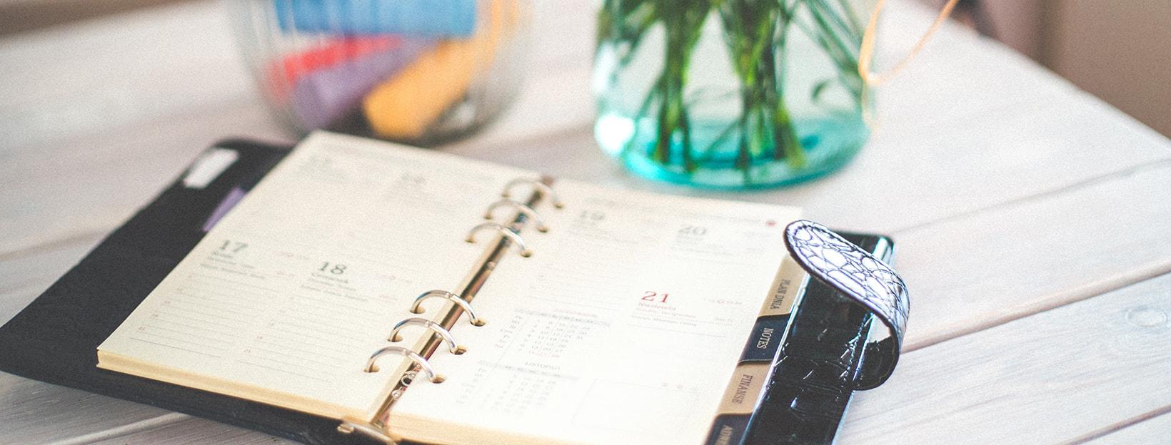 Tipps, Ideen und Vorlagen für den Terminplaner