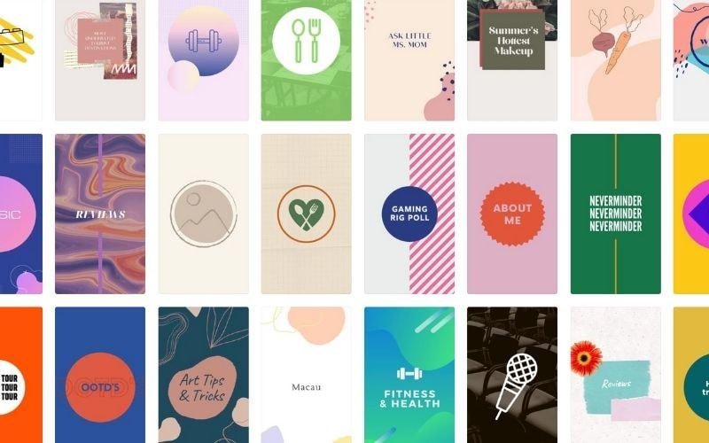 Примеры обложек Актуального в Инстаграм