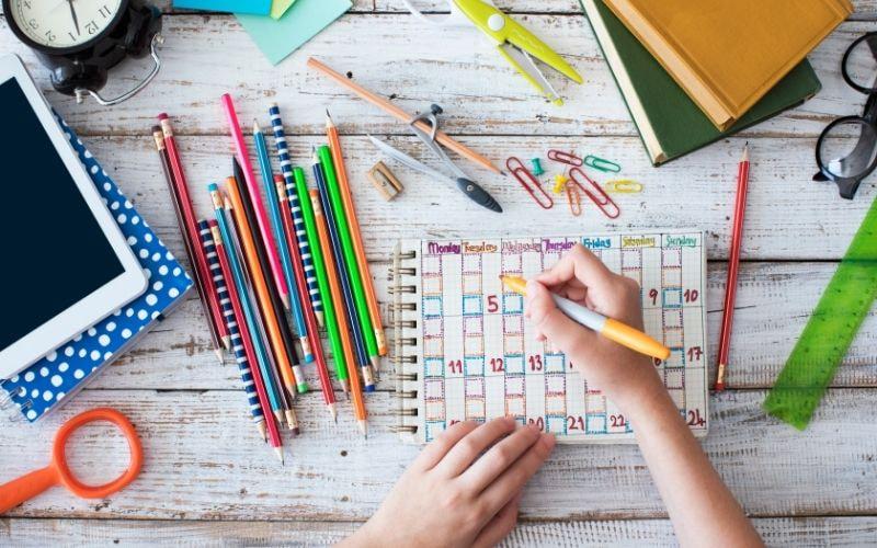 Идеи для оформления расписания уроков