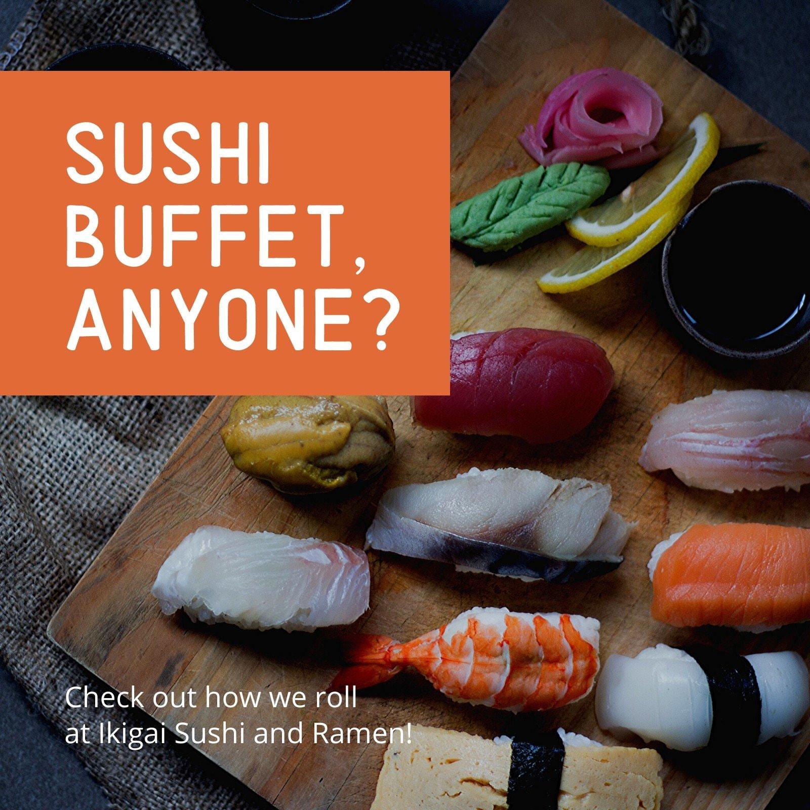 Japanese Sushi Photo Food Instagram Post