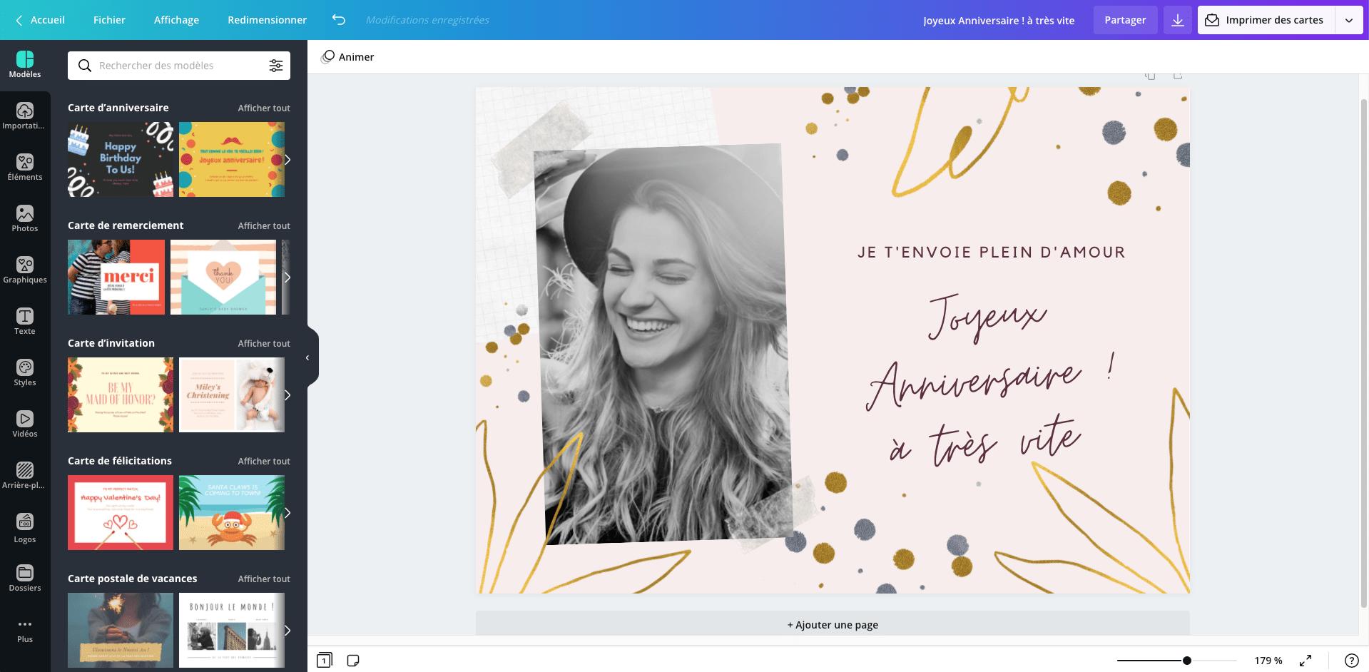 carte virtuelle gratuite anniversaire