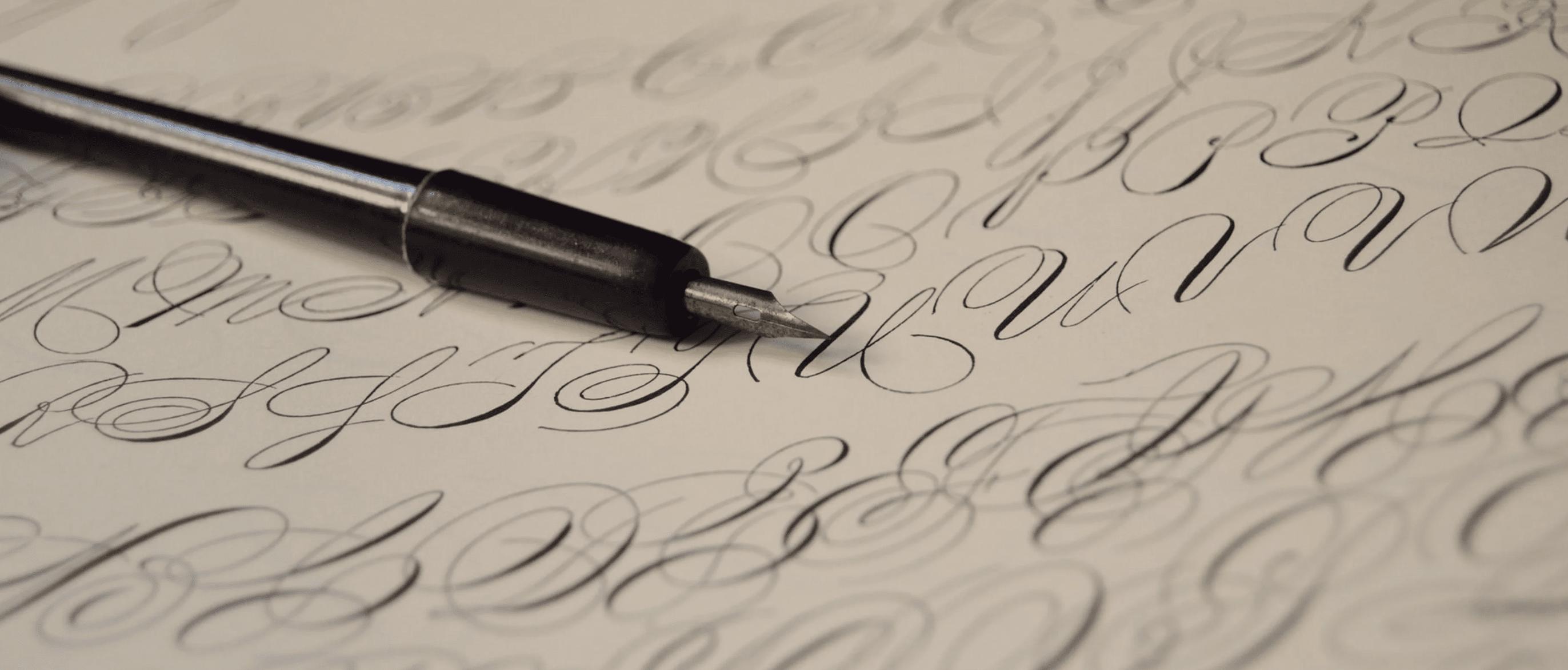 Подборка рукописных шрифтов