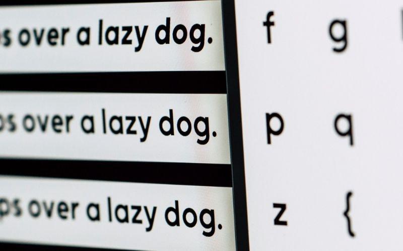 Подборка крутых шрифтов