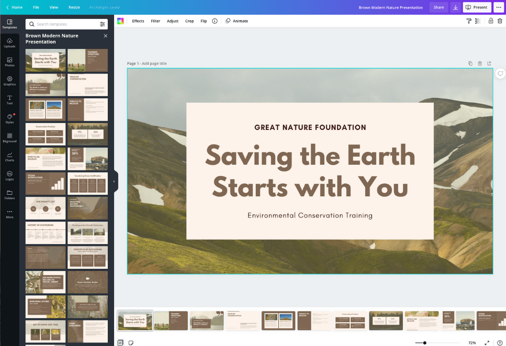Free Online Powerpoint Alternative Design A Custom Presentation In Canva