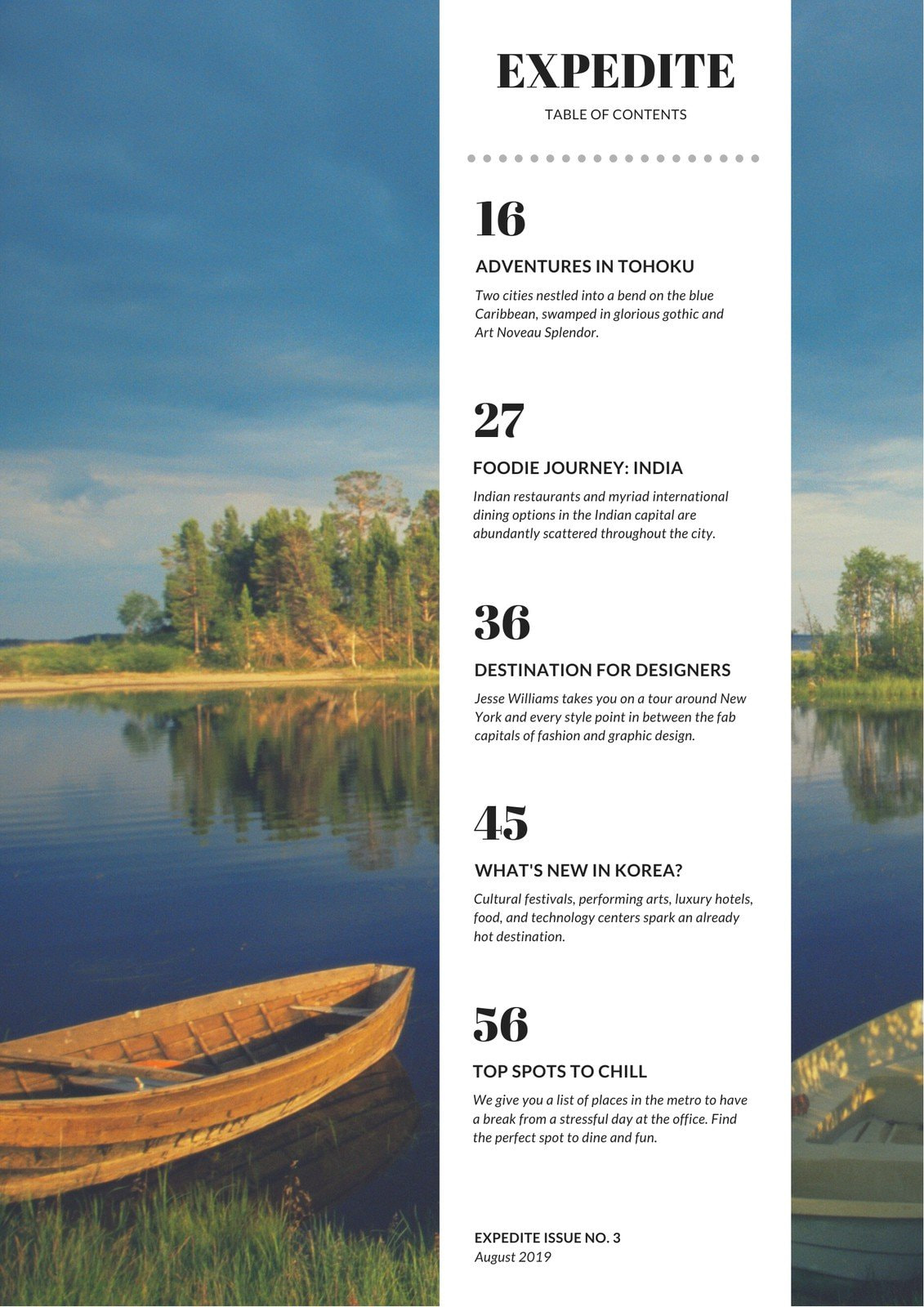 White Mountain Photo Background Travel General Table of Contents