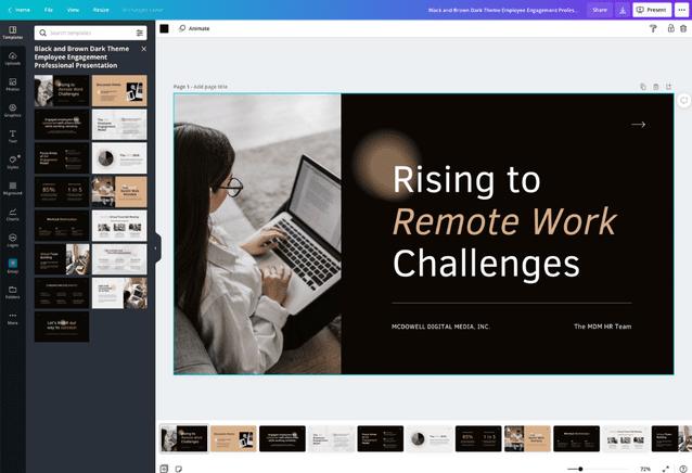 Make A Presentation Online