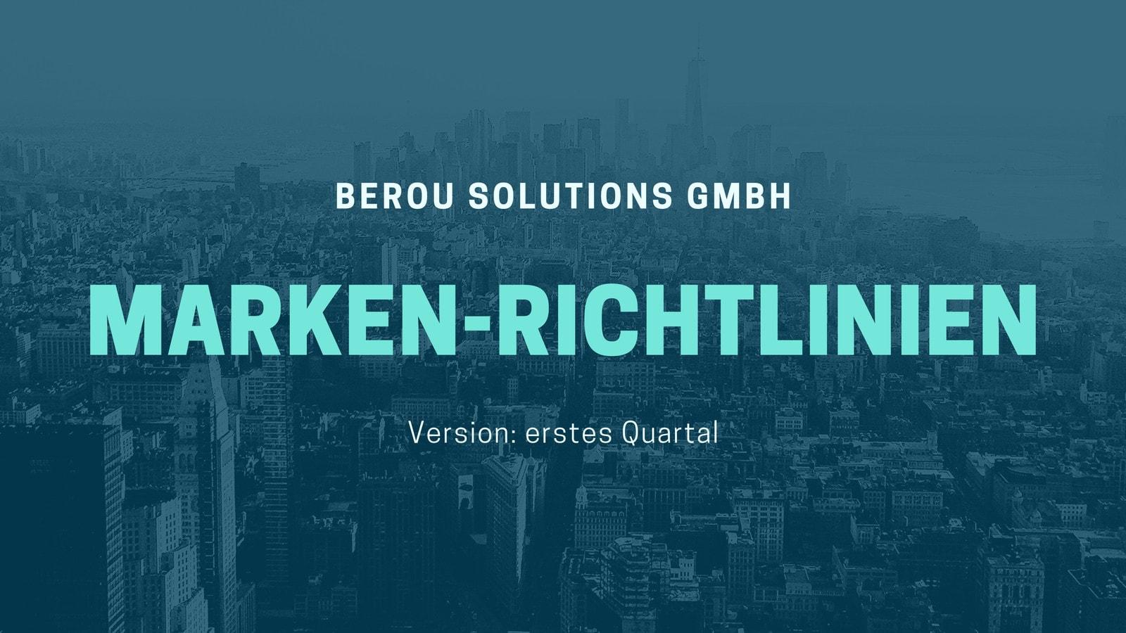 Dunkelgrau und Türkis Modern Markenrichtlinien Präsentation
