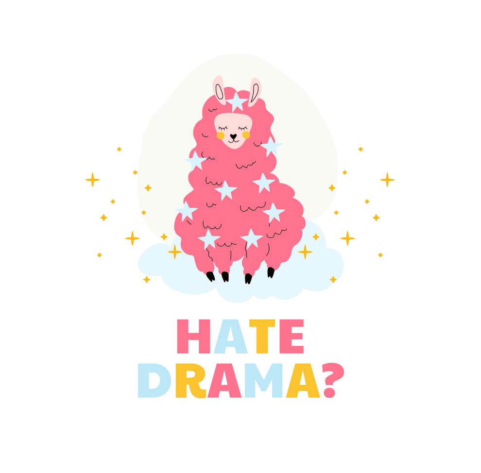 Pink Blue and Yellow Sheep Cute and Friendly Cute Animals Mug