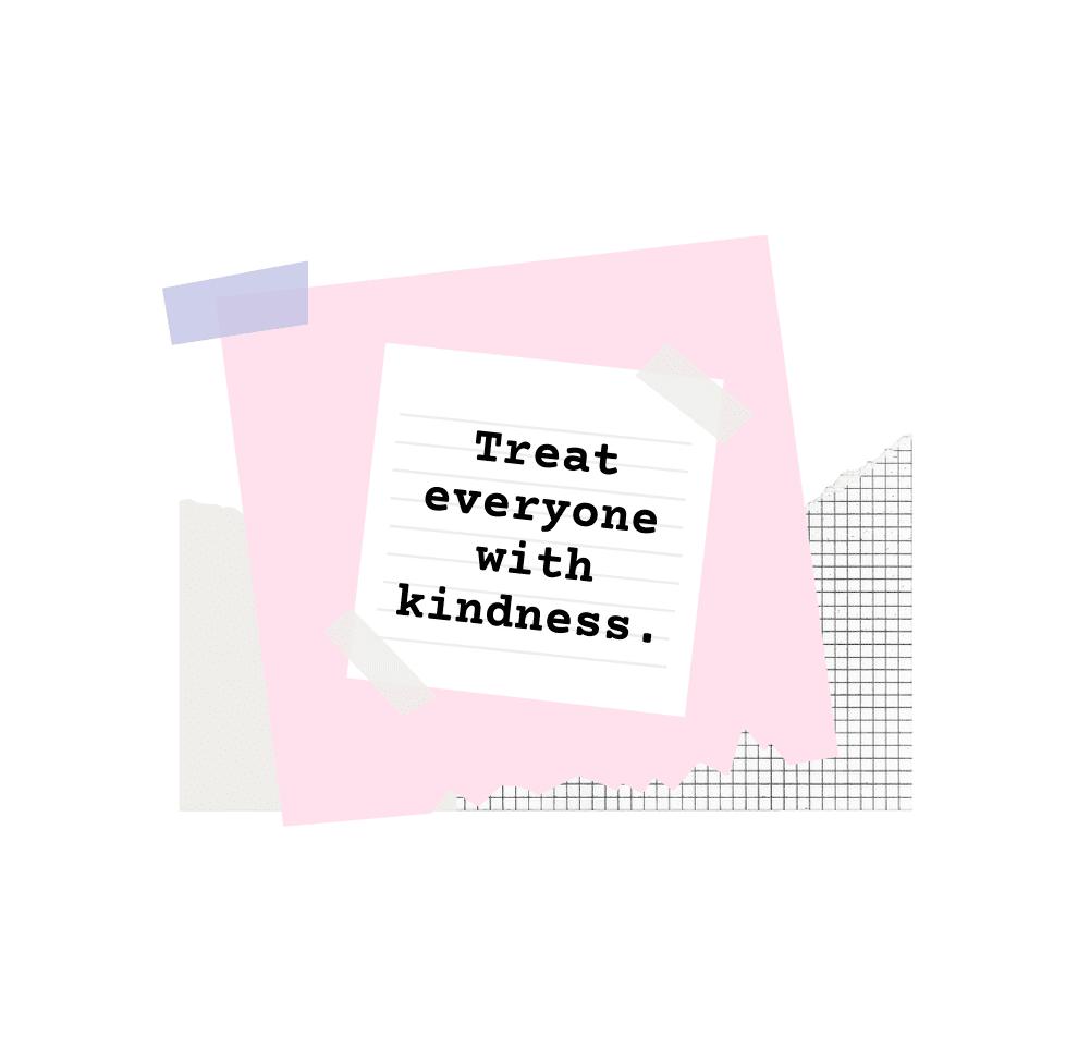Pink Paper Modern Minimal Motivational / Funny Quotes Mug