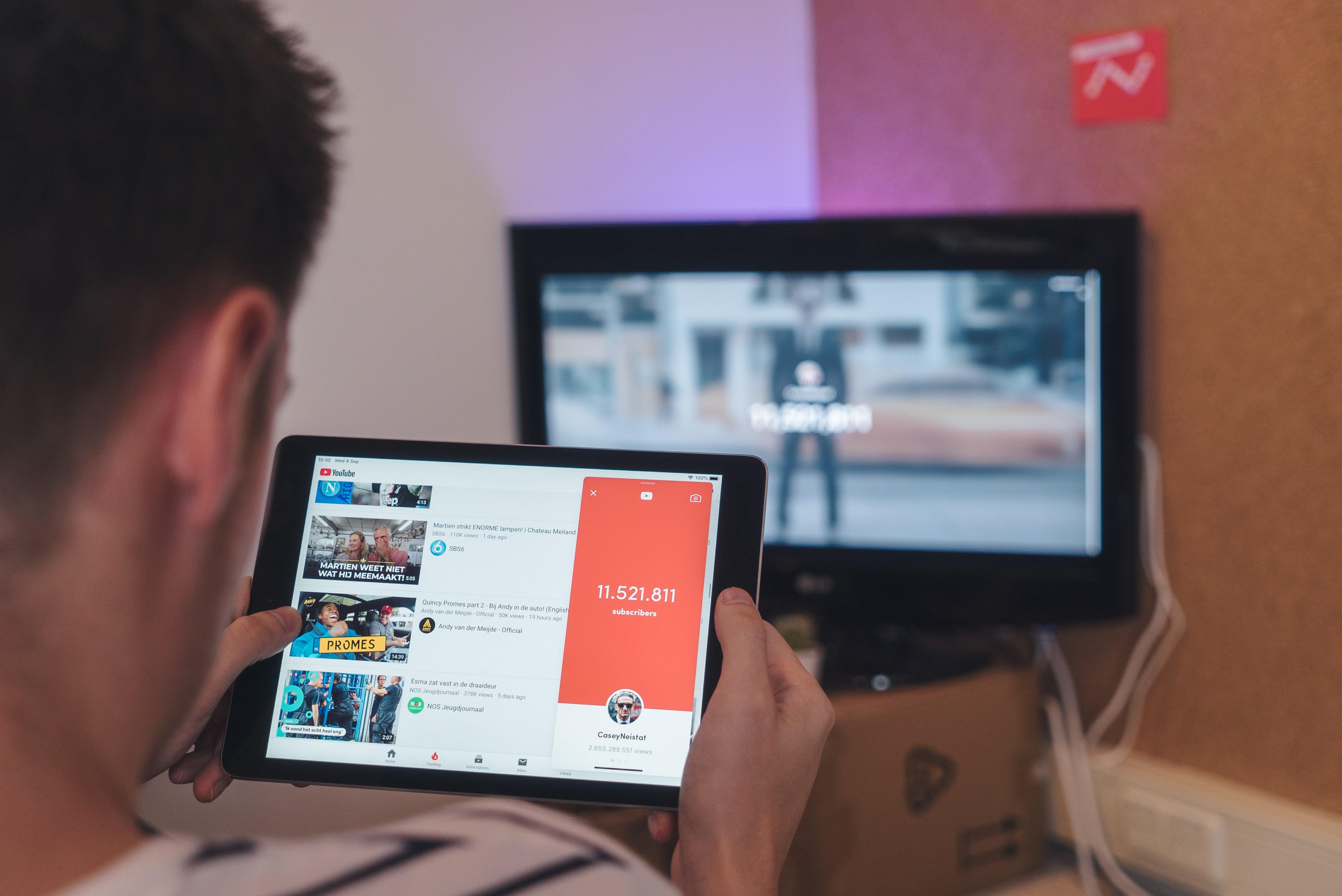 монетизация youtube баннер