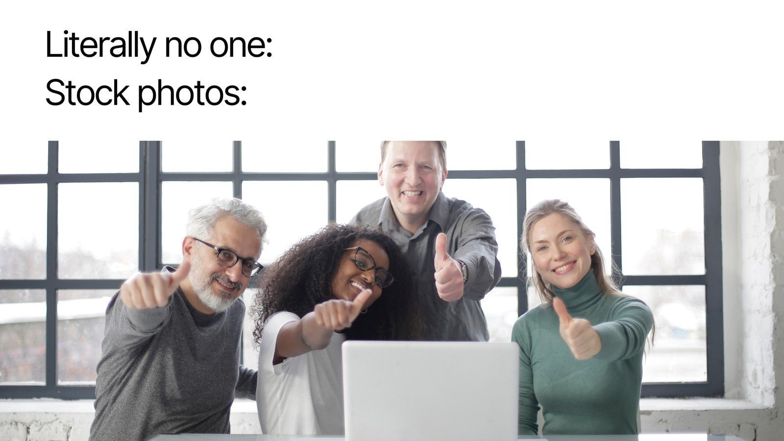 Literally No One Stock Photos Simple Meme