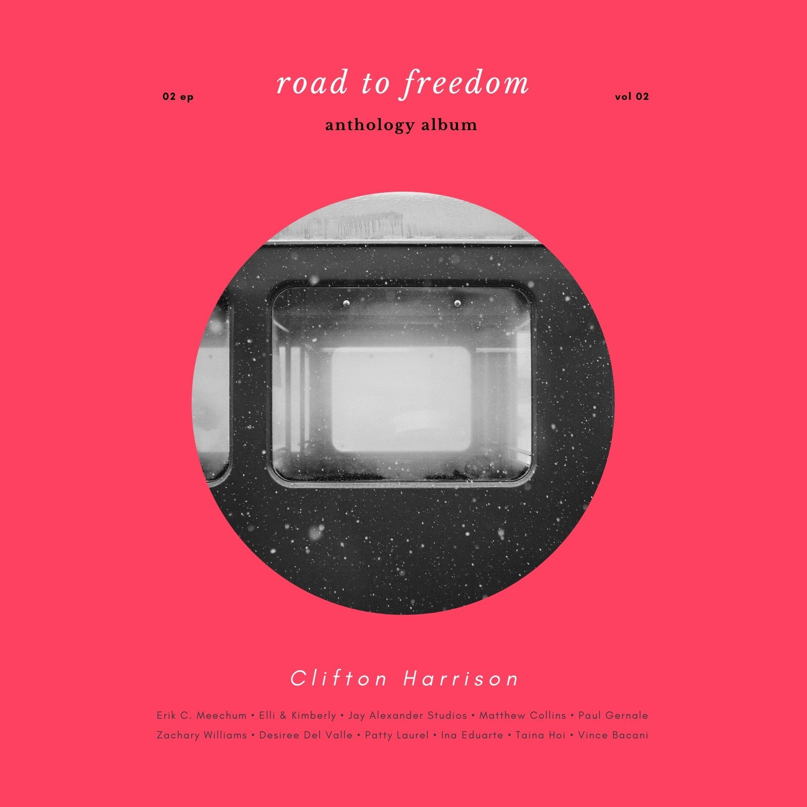 Red Modern Album Cover