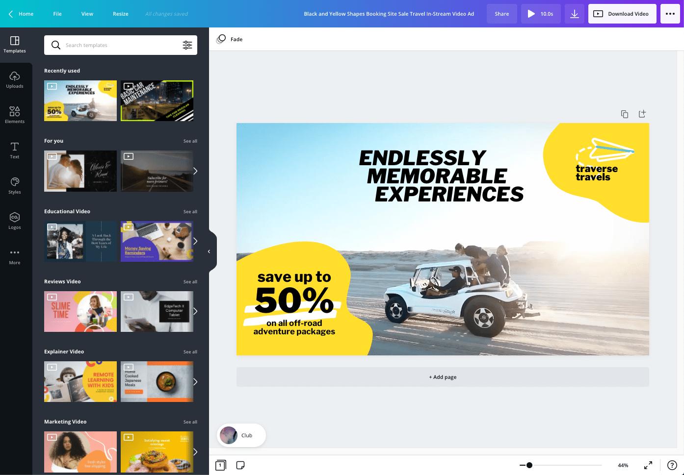 Cách tạo video marketing