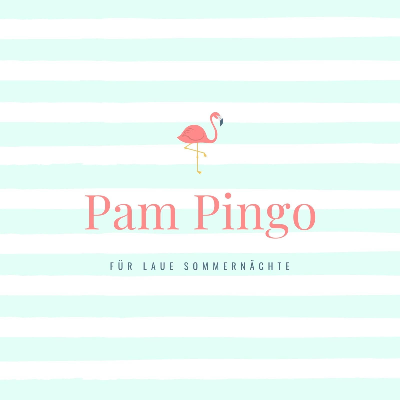 Pastellfarben Streifen Flamingo Album Cover