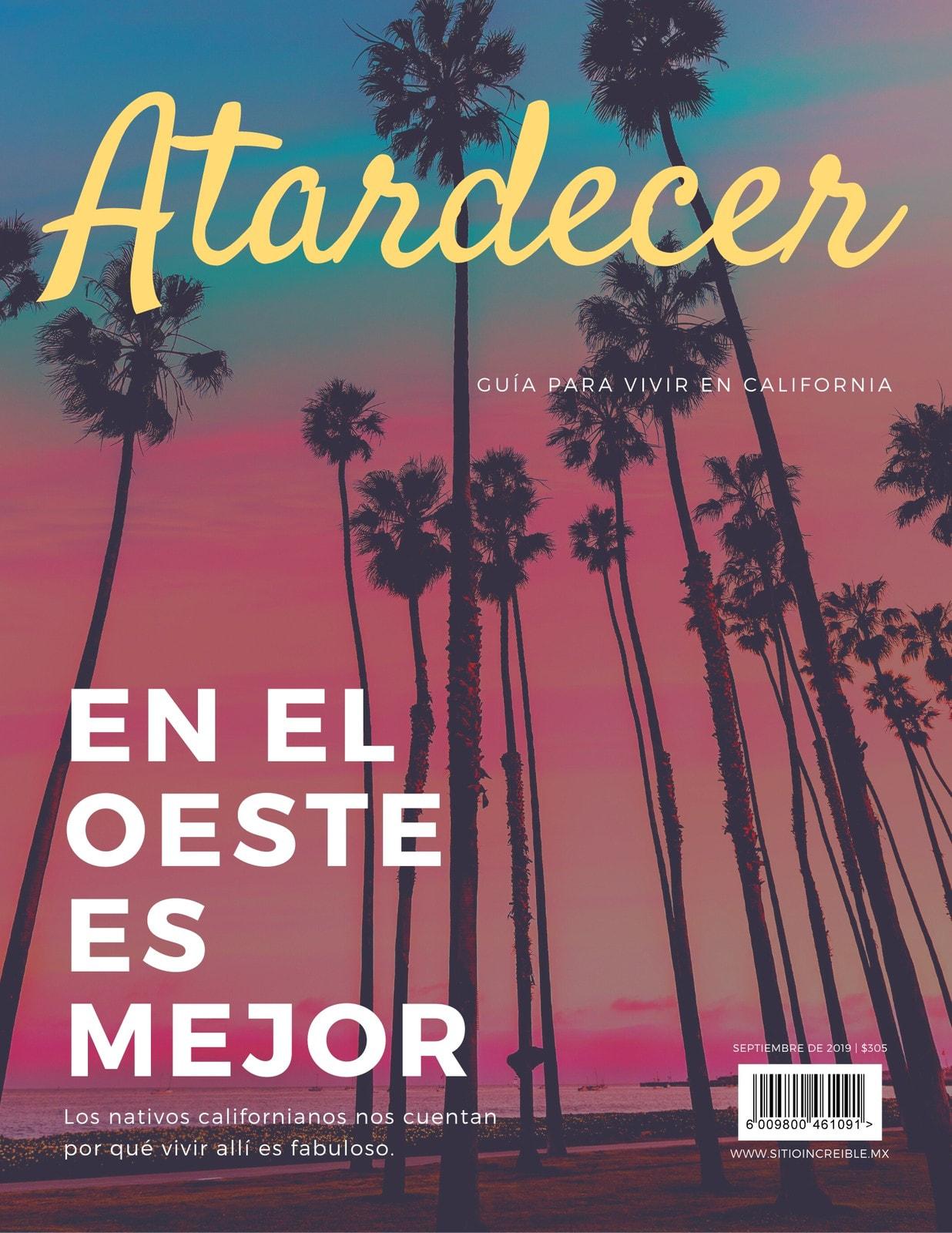 Rosa Atardecer Viajes Verano Revista