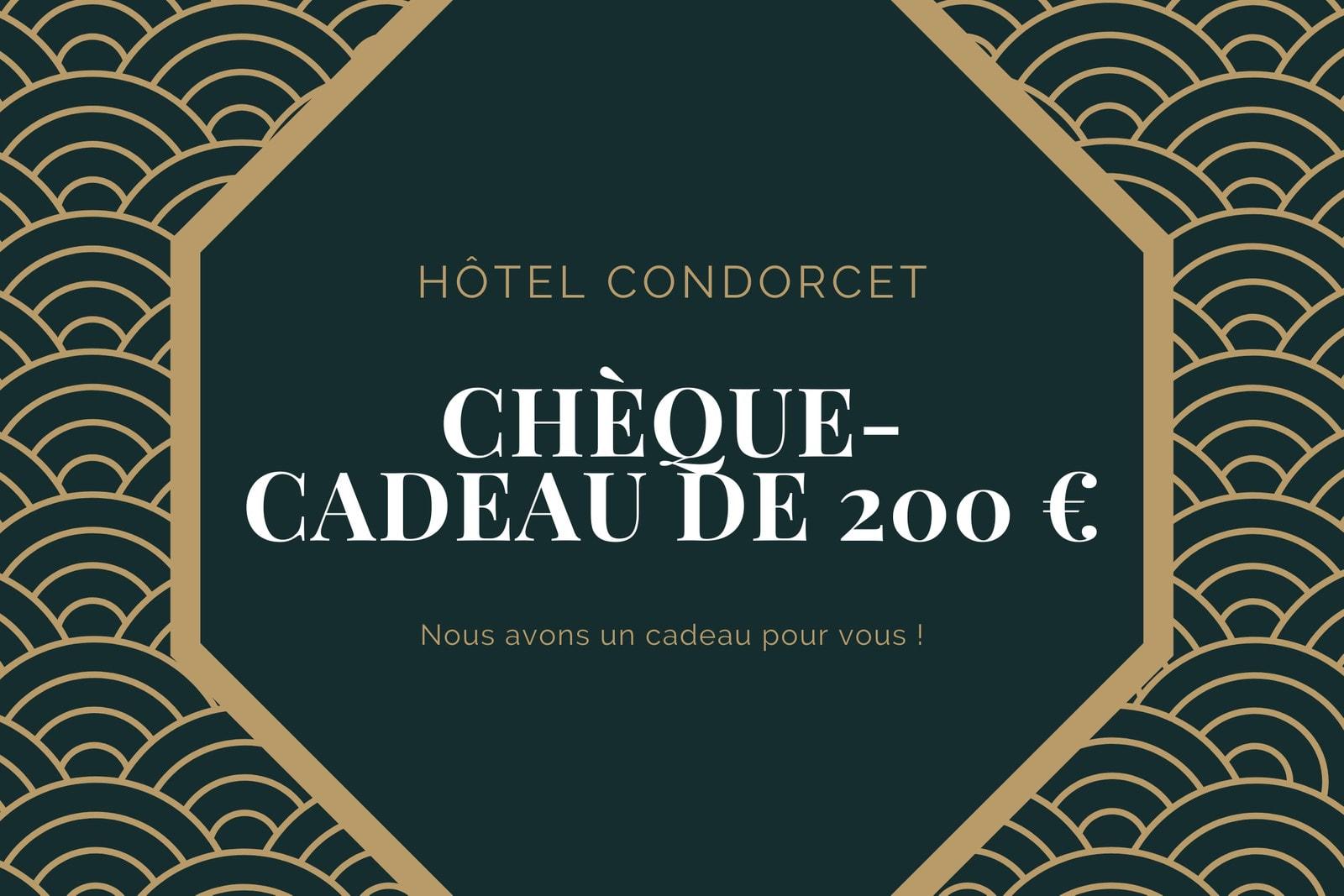 Octogone Hôtel Chèque-Cadeau