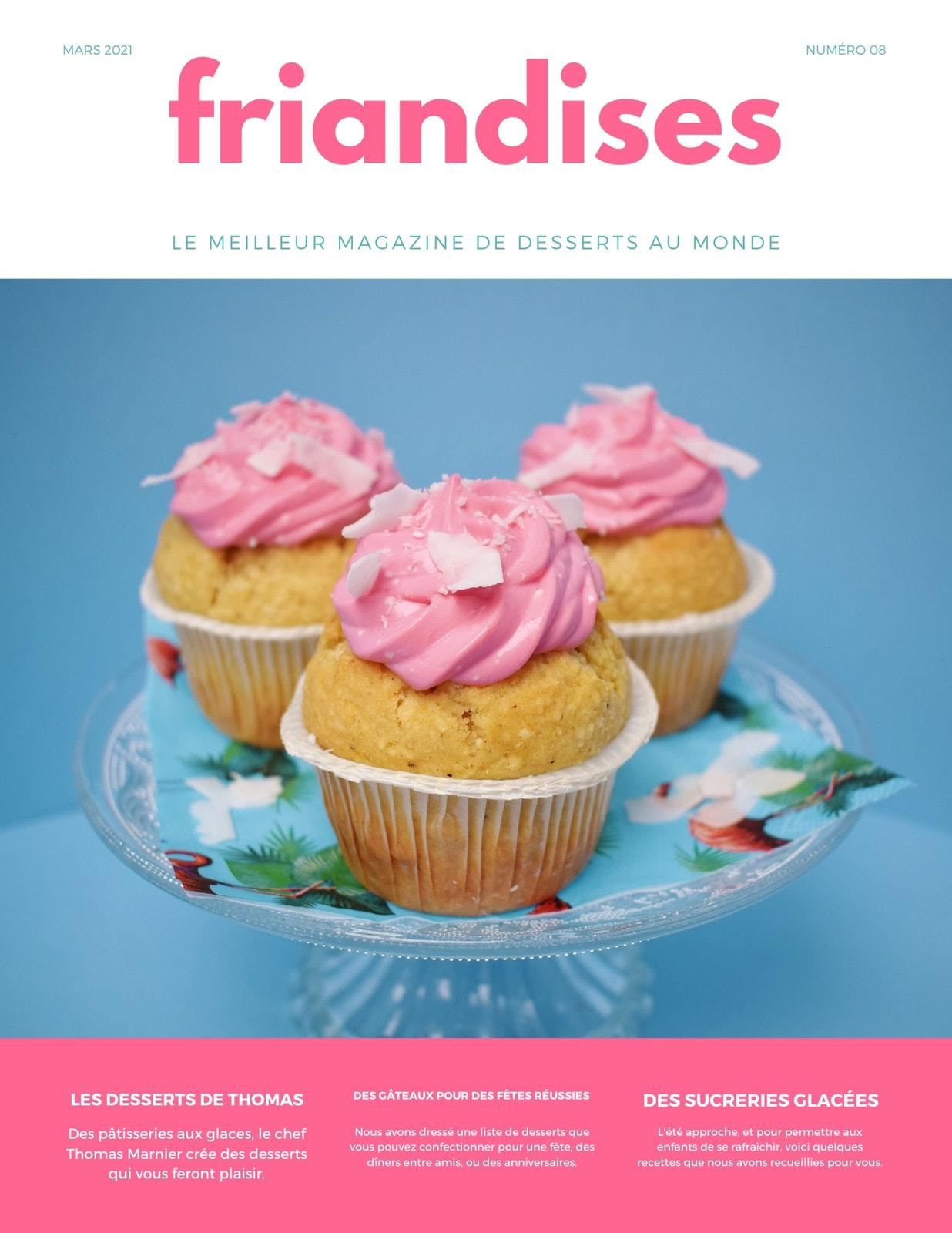 Rose Bleu Dessert Culinaire Magazine