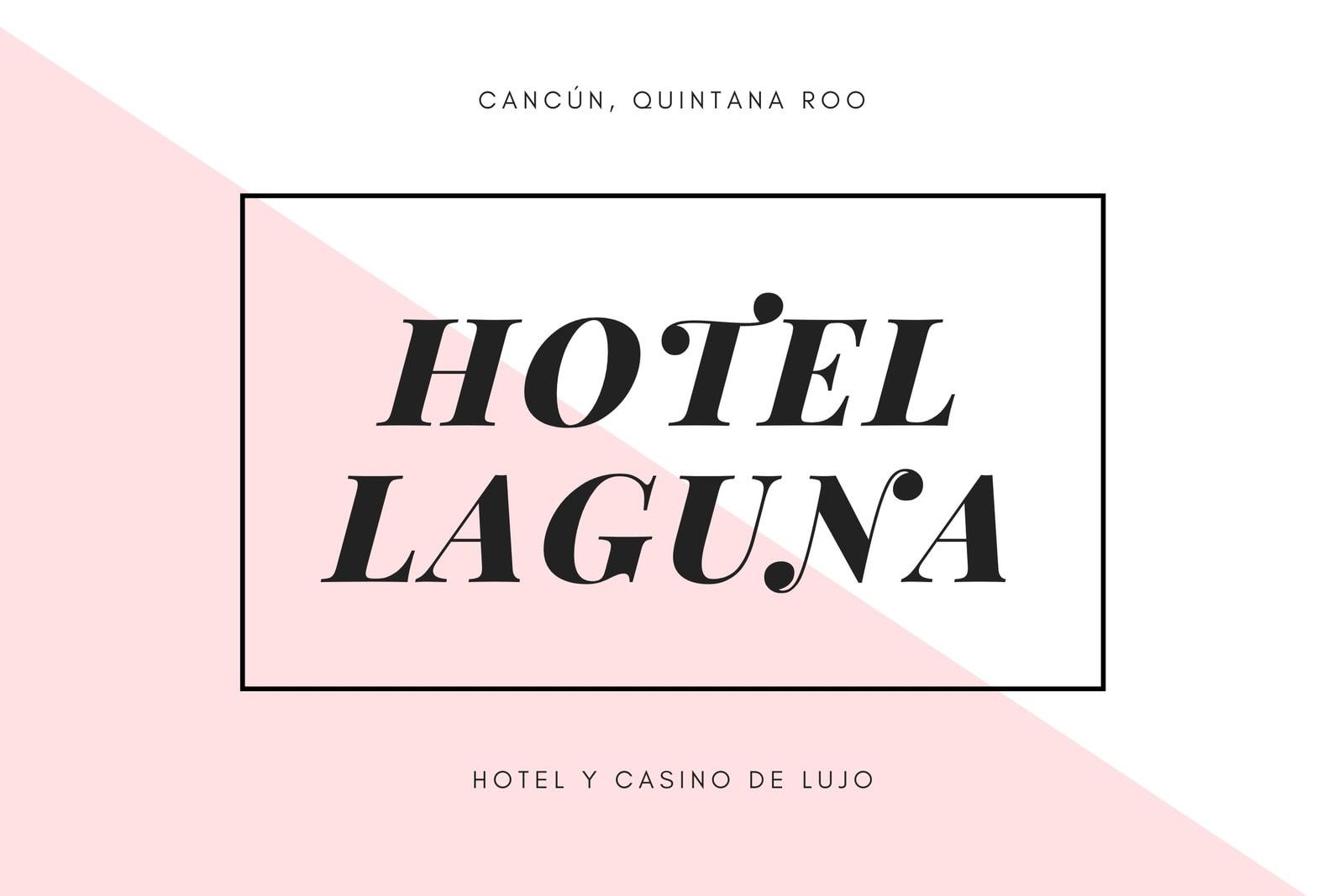Rosa Minimalista Moderno Hotel Certificado de Regalo