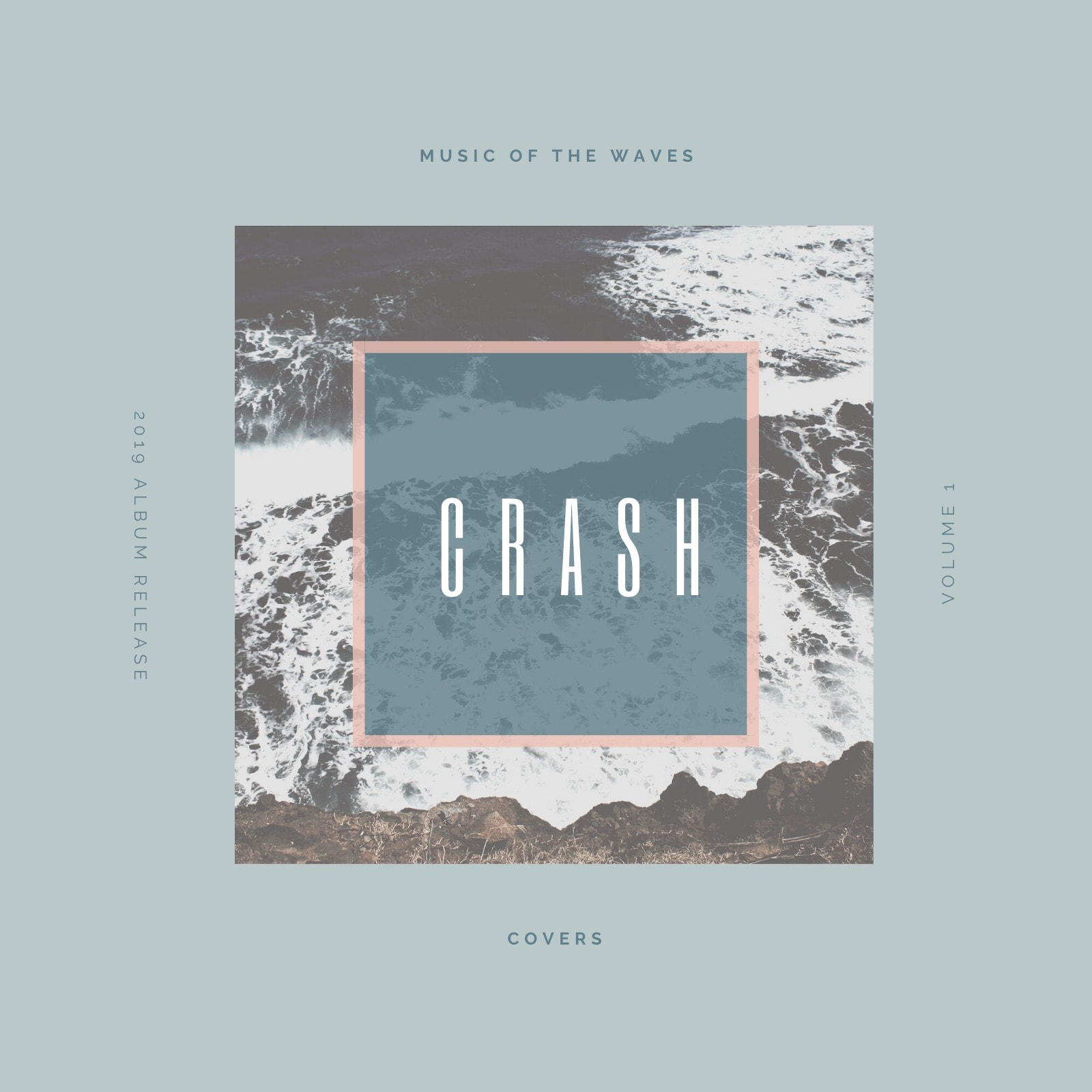 Blue Waves CD Album Cover