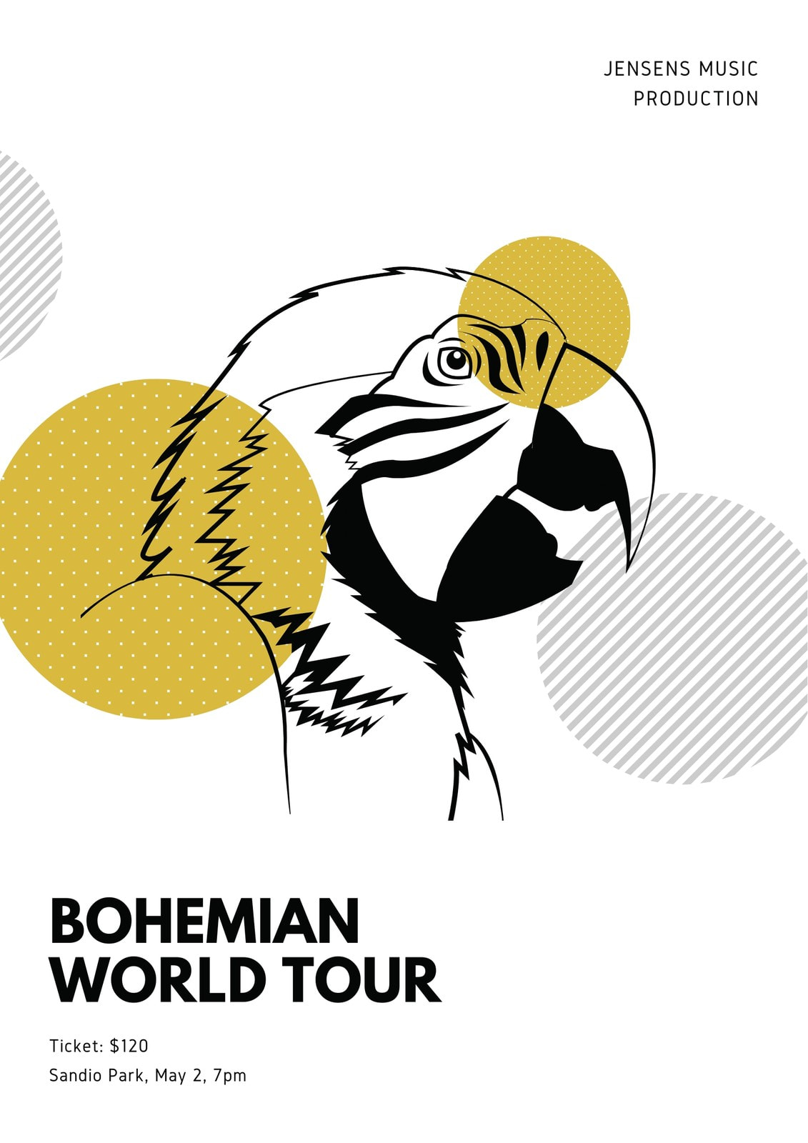 Yellow Bird Concert Program
