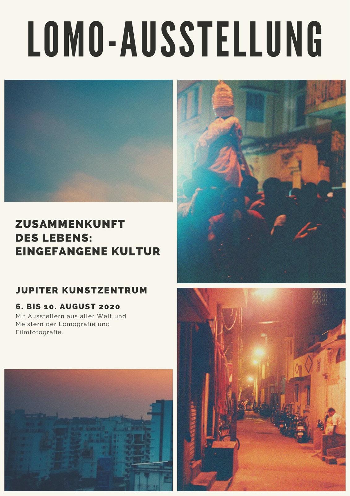 Foto Collage Ausstellung Veranstaltung Programm