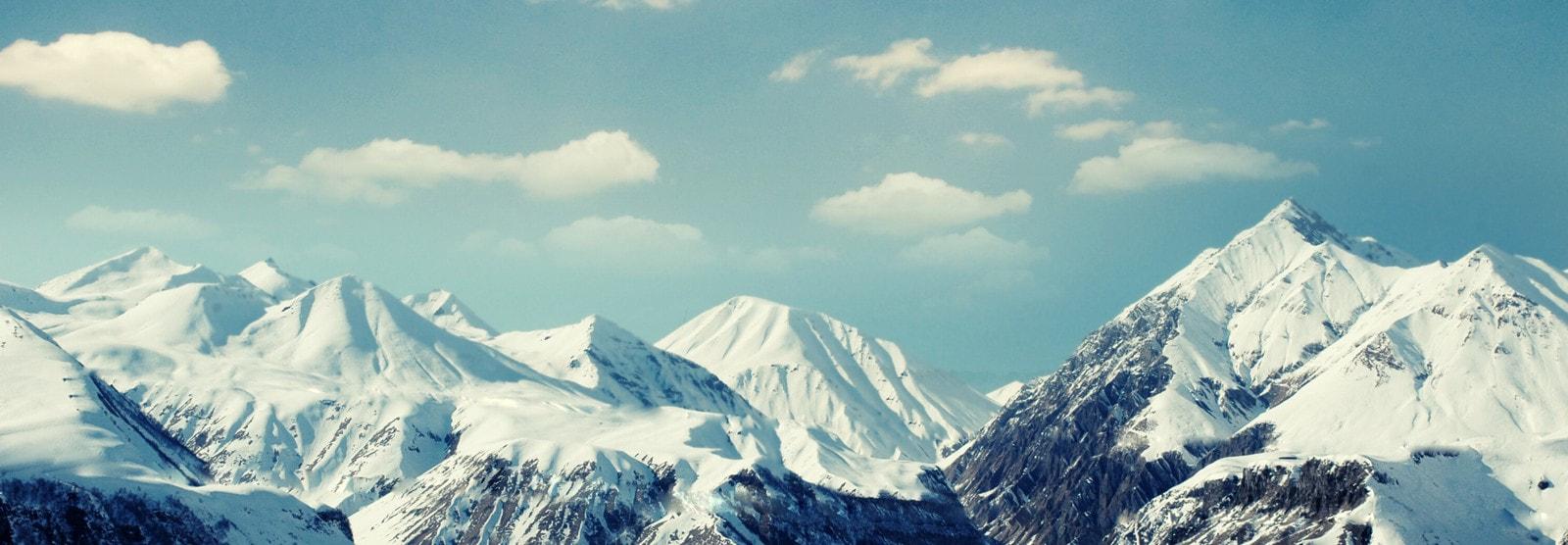 Snowy Mountaintops Profile Header