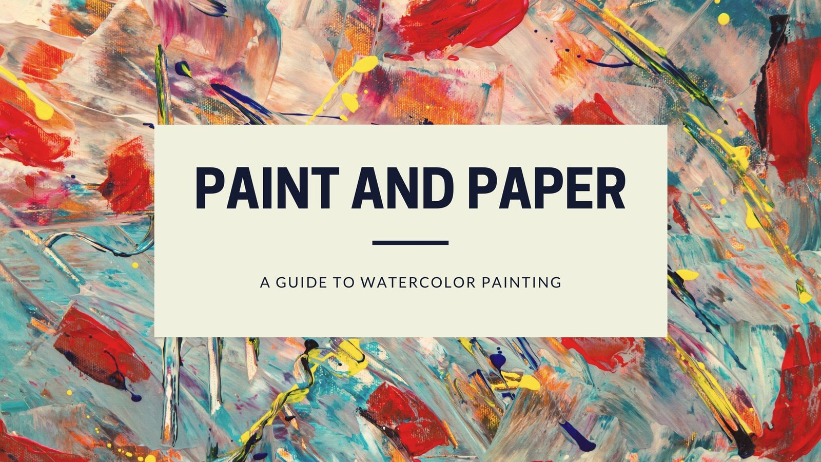 Painting Blog Banner