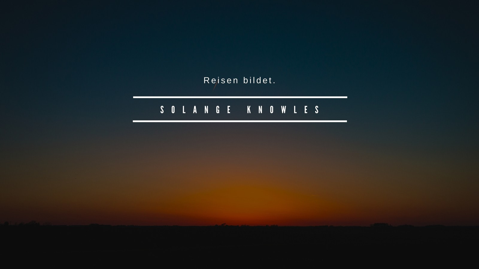 Schwarz Sonnenuntergang Horizont Foto Desktop Hintergrundbild