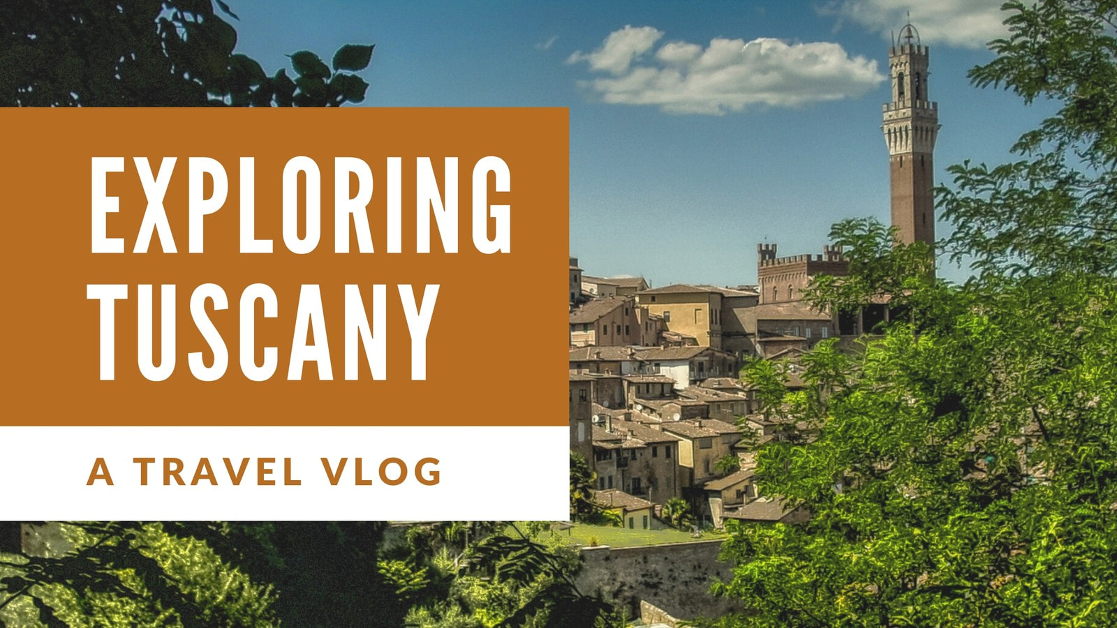 Travel Vlog YouTube Thumbnail