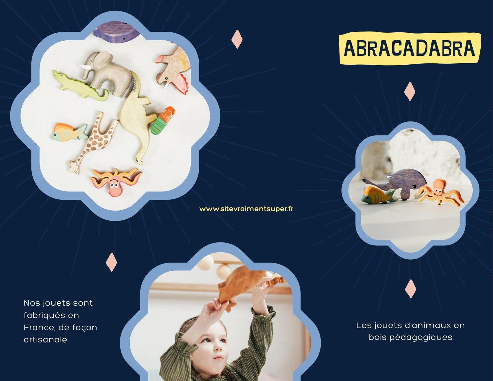 Kit Media brochure tarifs marque jouets