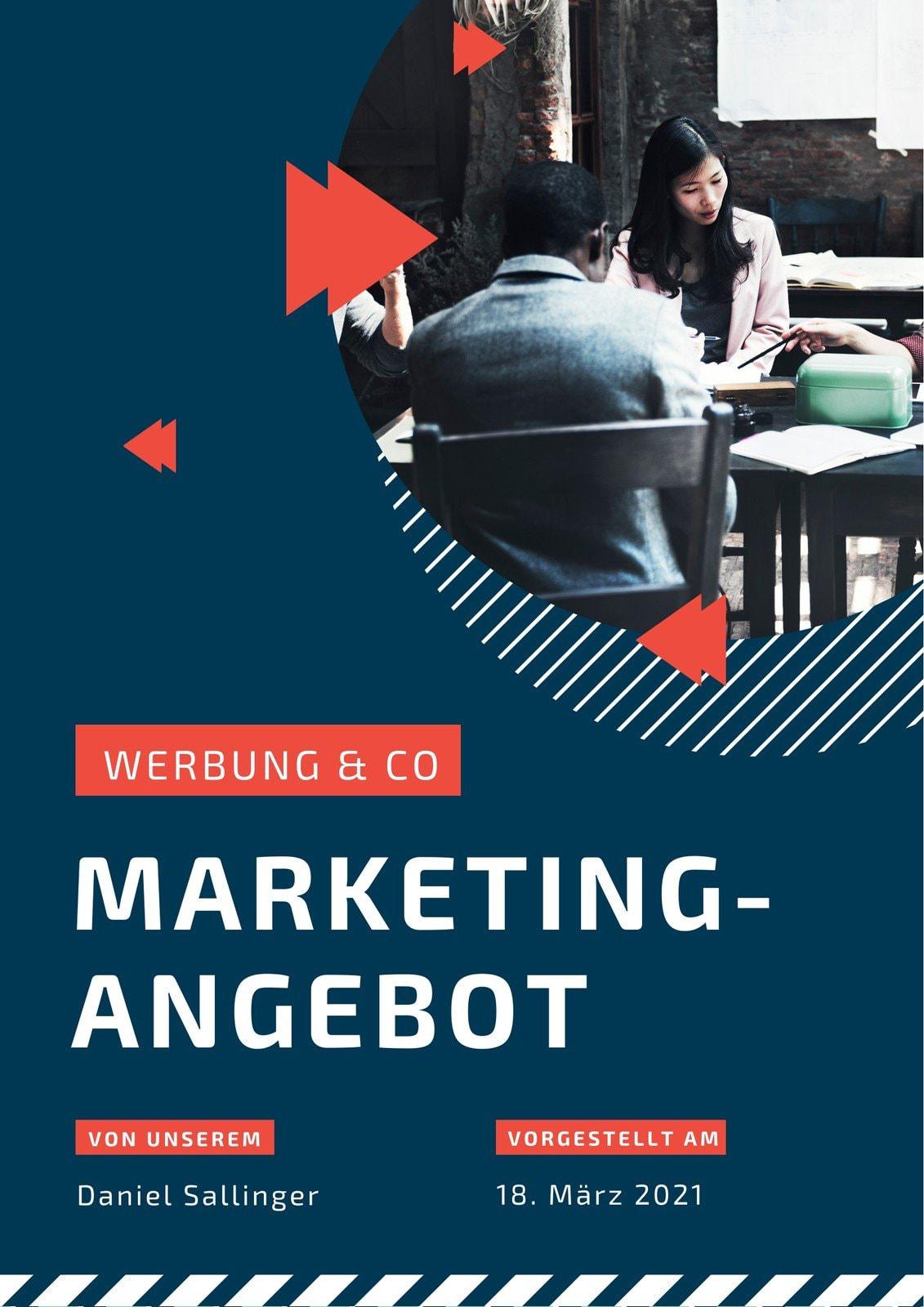 Dunkel Kreis Foto Modern Marketing-Angebot