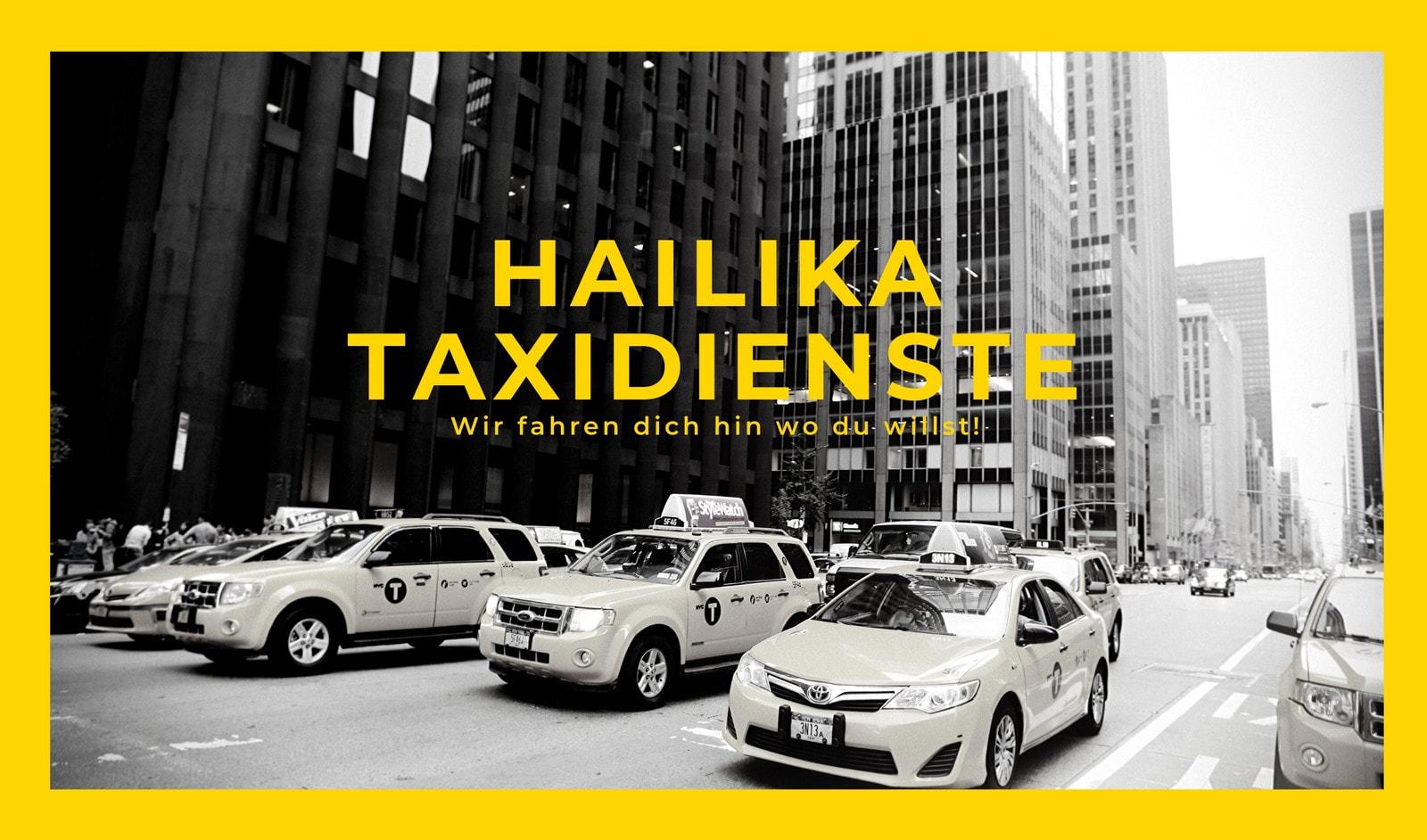 Gelb Schwarz Taxe Stadt modern Taxi Visitenkarten