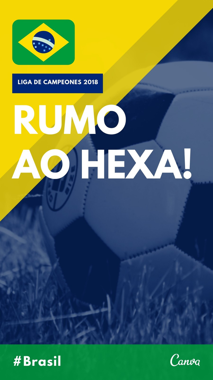 Amarillo Azul Verde Brasil Ánimo Fútbol Tu Historia