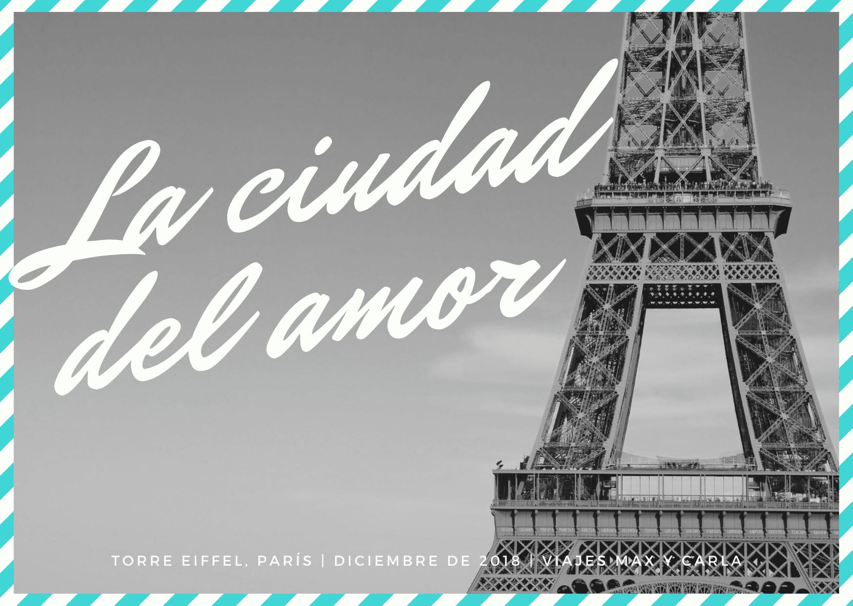 Francés Torre Eiffel Correo Aéreo Tema Postal