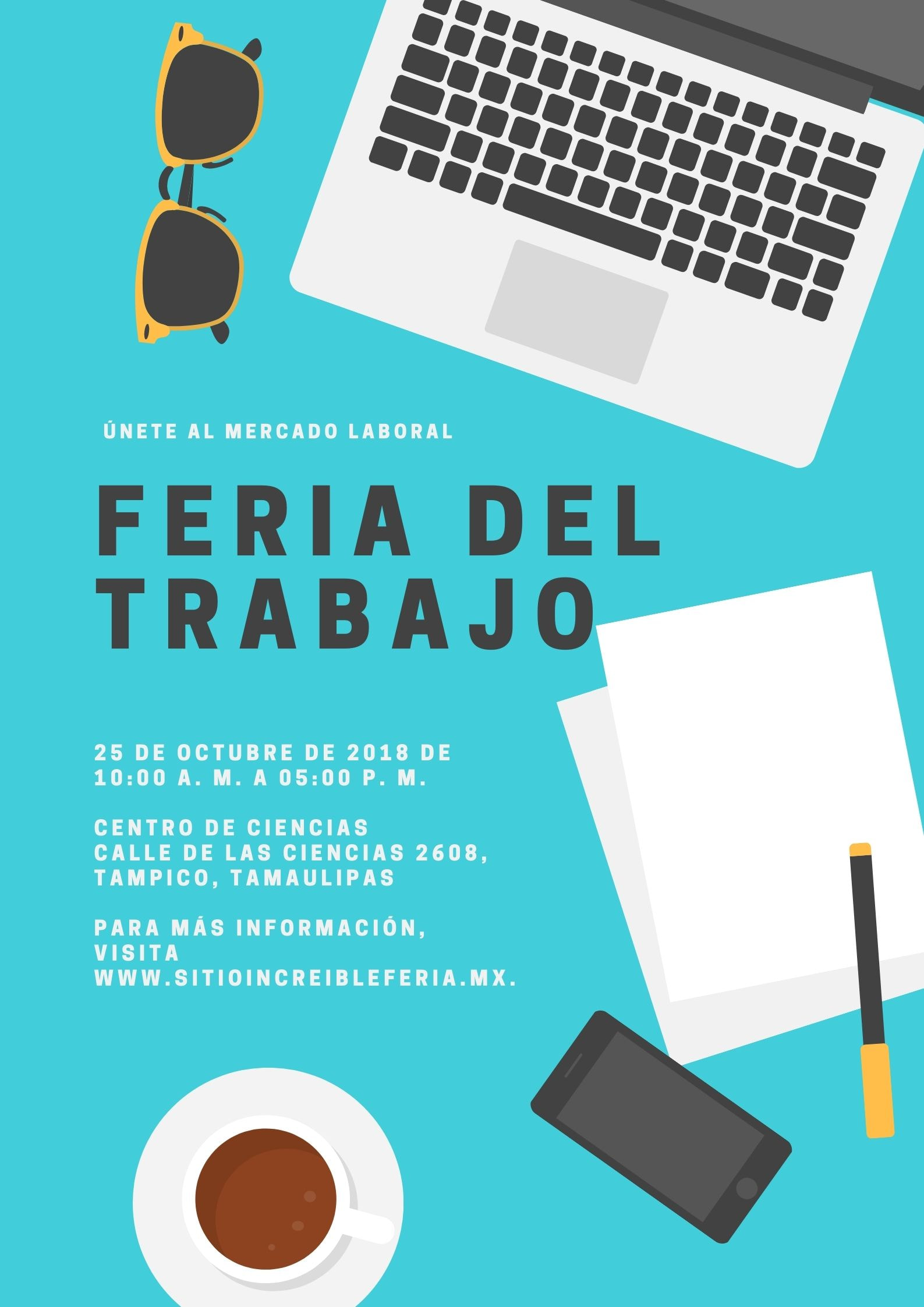 Feria Profesiográfica Escuela Póster