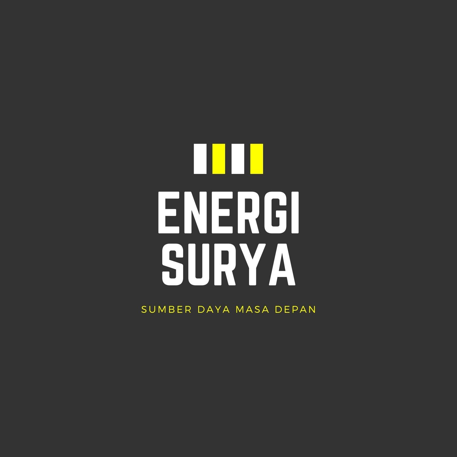 Abu-abu Tua Garis Industri Logo