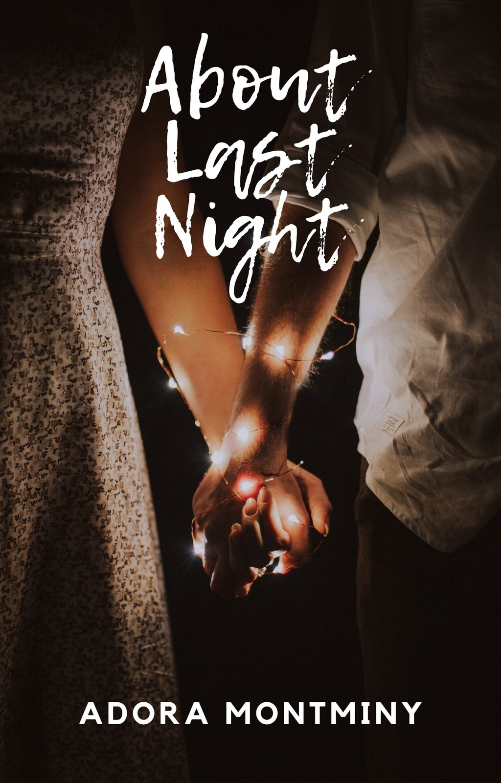Couple Silhouette Romance/Chick Lit Book Cover