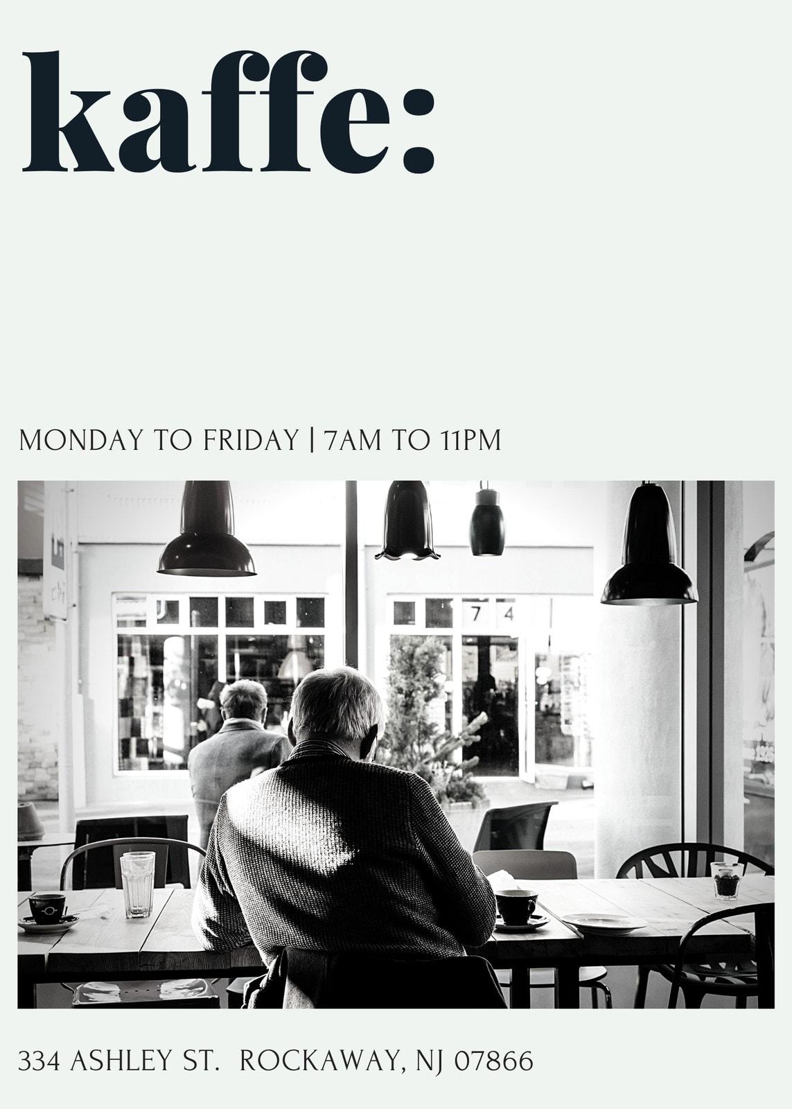 Simple Coffee Shop Flyer