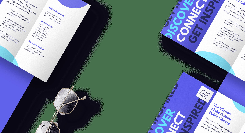 Brochure size guide - Canva
