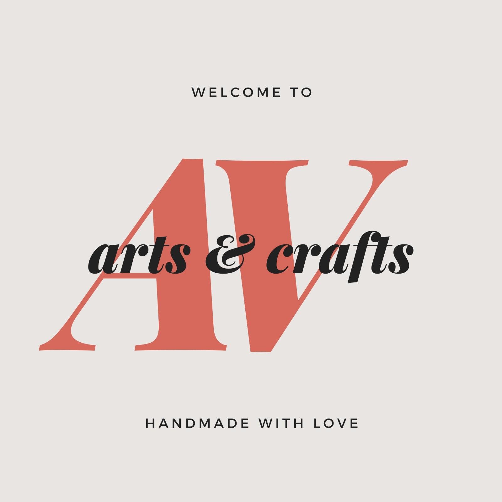 Clean Modern Arts Crafts Etsy Shop Icon