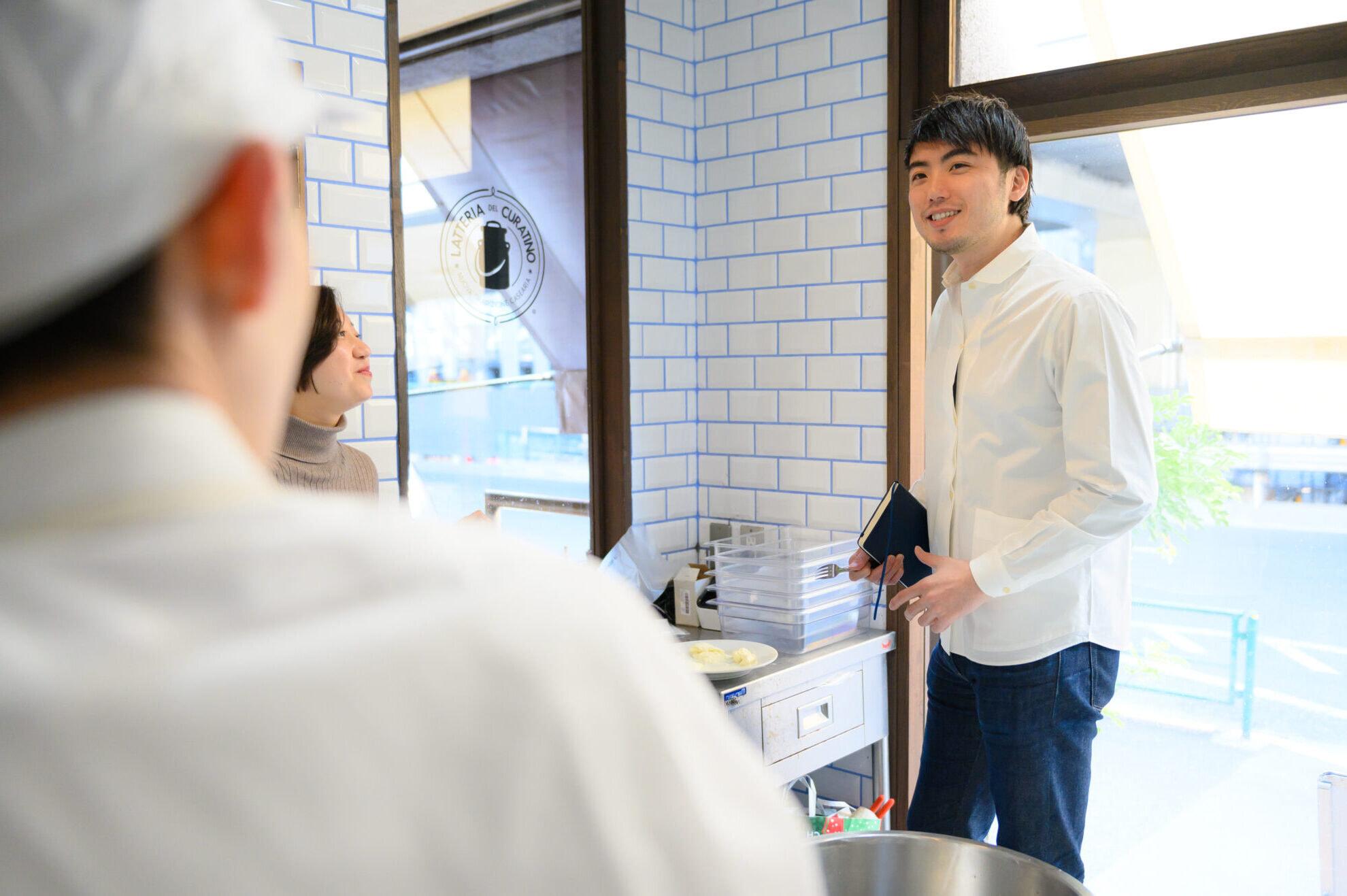 3rd Menu, Nakamura Tomonori, interview